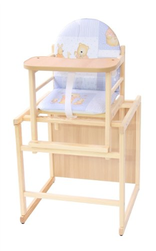 Kinderhochstuhl Kombihochstuhl Babyhochstuhl Hochstuhl Tisch Holz 4 TOP DESIGNS