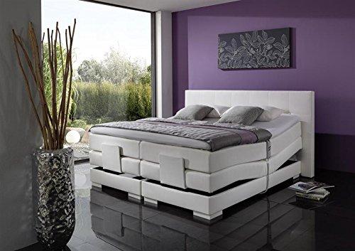Breckle Boxspringbett 160 x 200 cm Oxford Box Elektro Inspiration Hollanda TFK Topper Gel Comfort