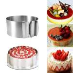 Stainless Steel Adjustable Baking Ring