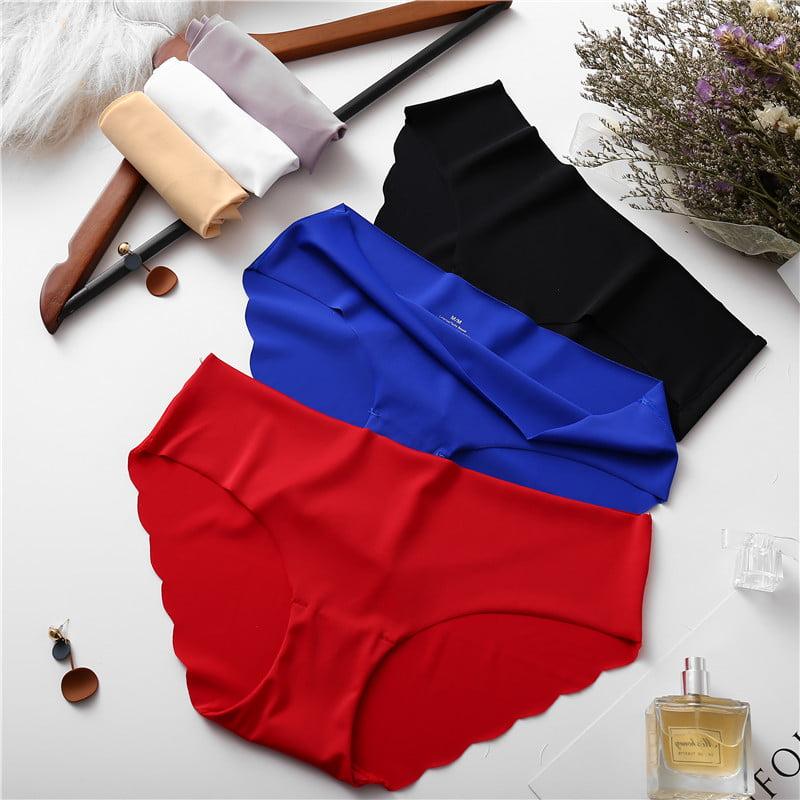 Women's Seamless Panties 3 Pcs Set