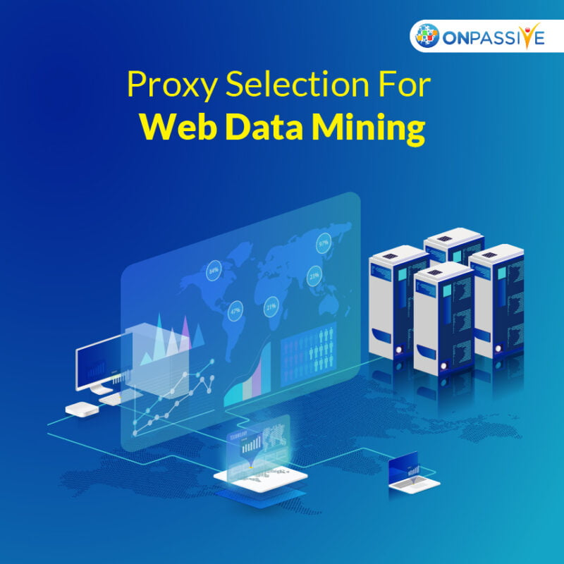 Essential Proxy Selection for Web Data Mining