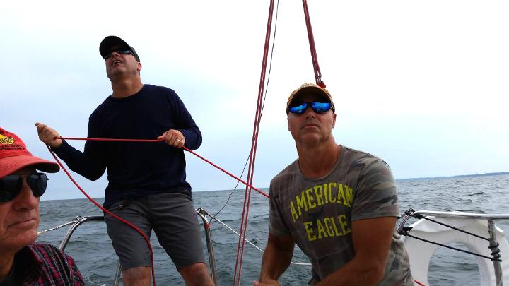Dad Darren Kyle Sailing