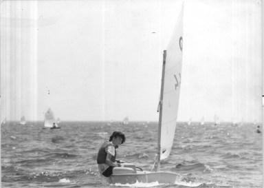 Maria Vlachou optimist 1988