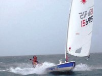 Laser speed record – holding at 16.8 knots