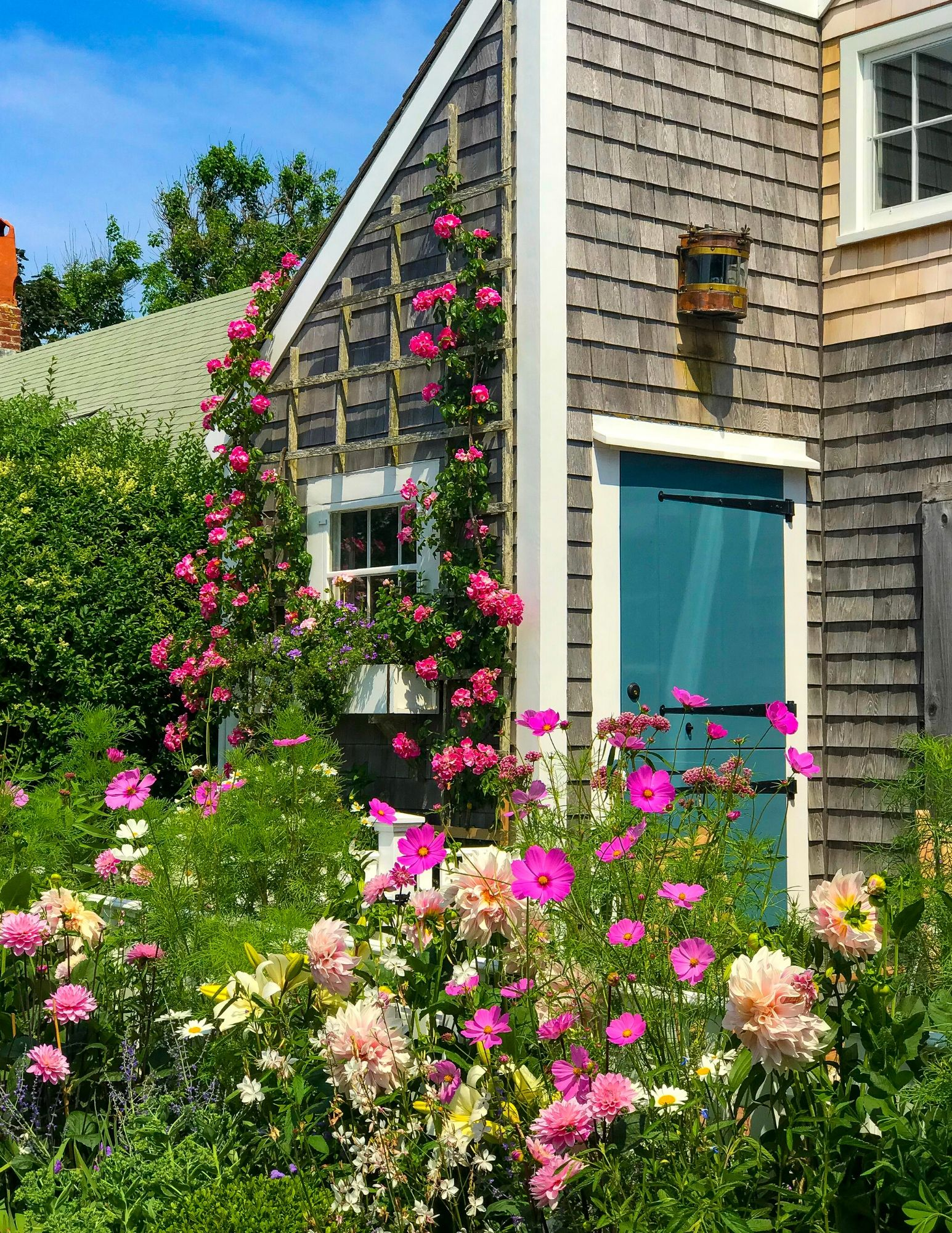 Nantucket Rose Covered Cottages in Sconset-21