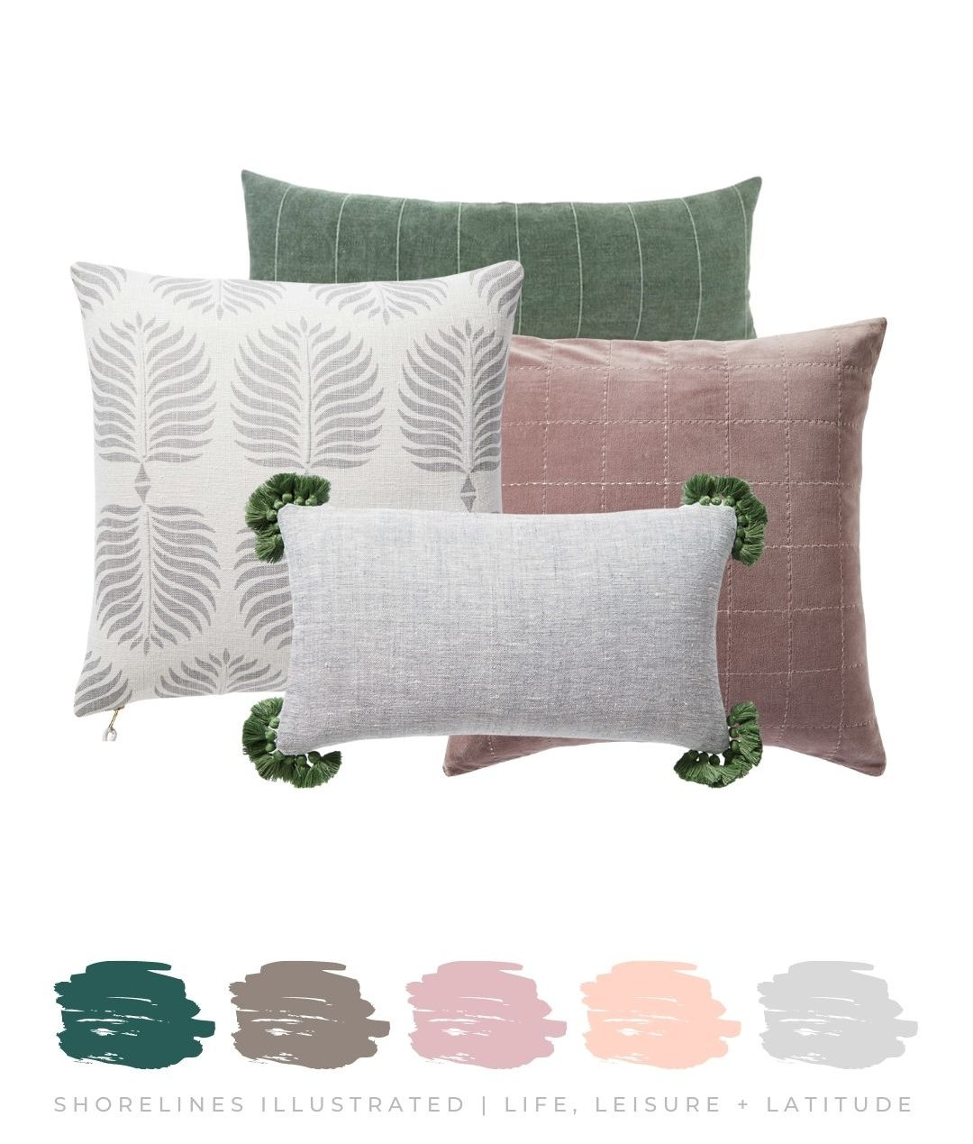 Assorted Pillows | SerenandLily.com