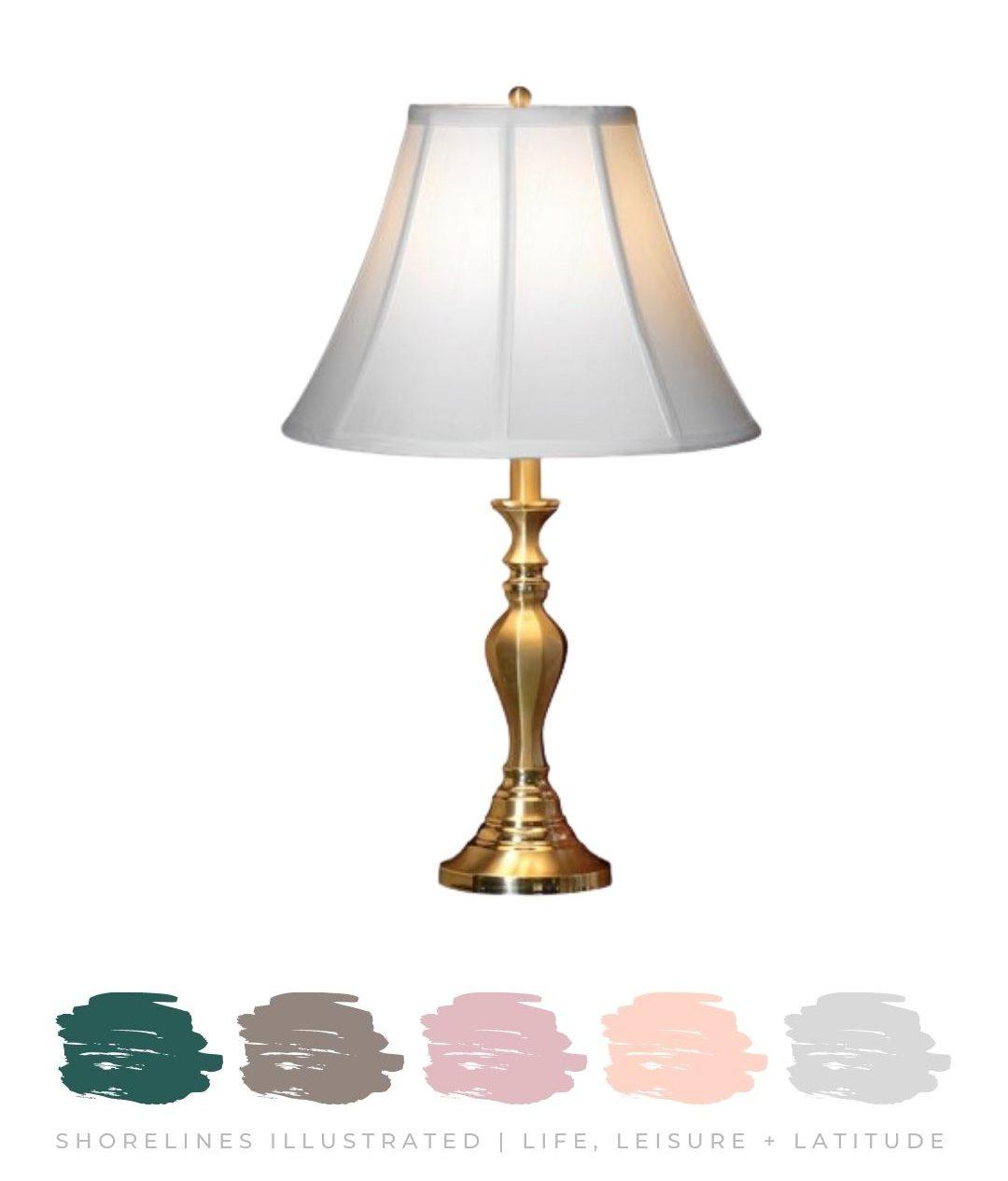 Brass Lamp $275 | ScullyandScully.com