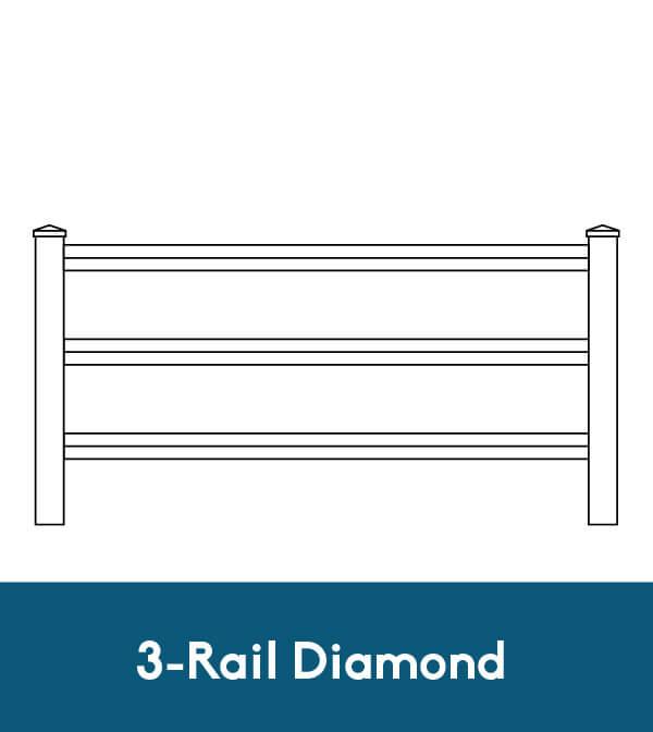 3-Rail Diamond