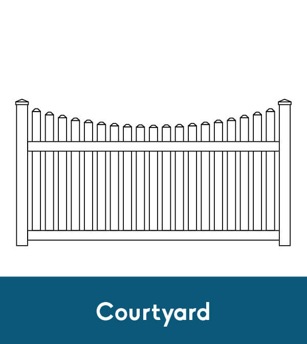 This is a photo of Resource Picket Fence Drawing