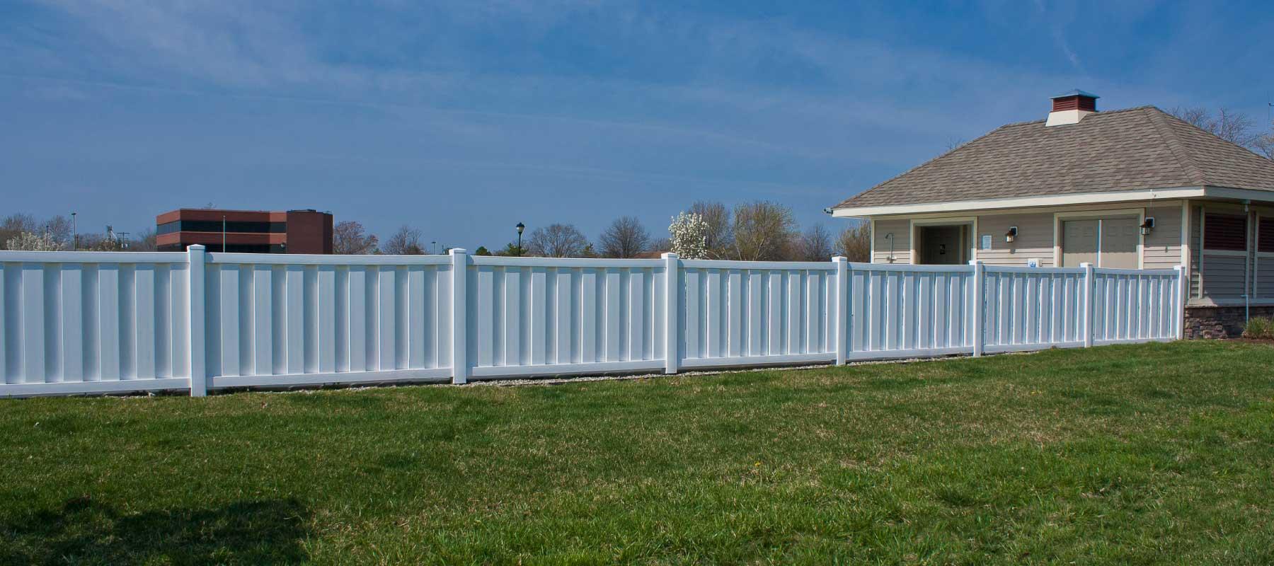 Lewes Vinyl Semi Privacy Fence Shoreline Vinyl Systems
