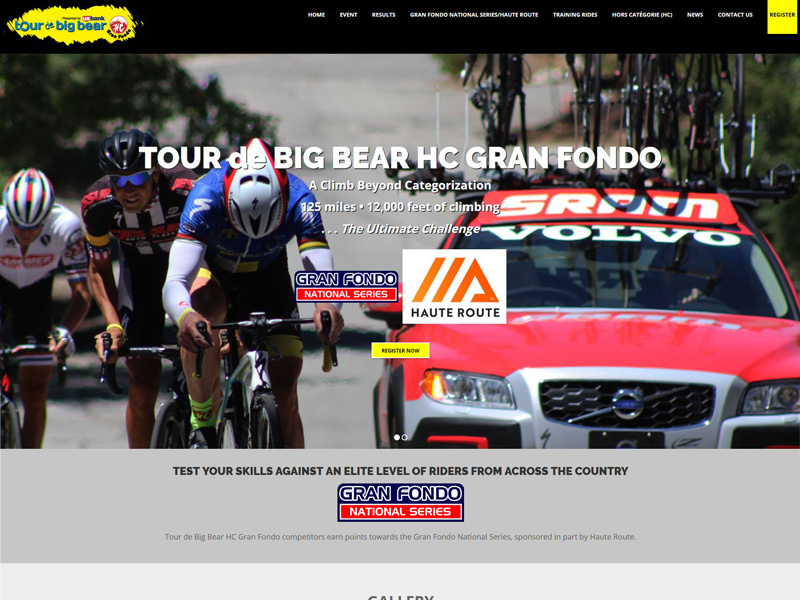 Tour de Big Bear HC Gran Fondo