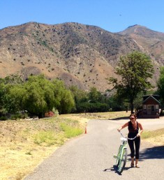 Biking in Rancho Oso