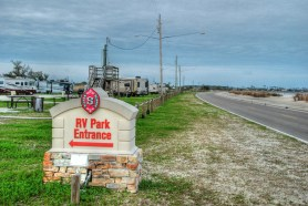 This RV Park has beautiful spots on the Gulf of Mexico. The only thing that is missing is YOU in your RV