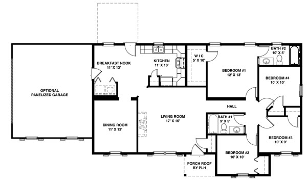 2000 Square Foot House Plans One Story Amazing House Plans