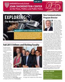 Fall 2011 Newsletter