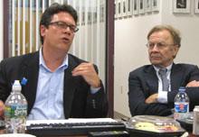 Bill Adair and Thomas Patterson.