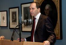 2010 Salant Lecturer Marcus Brauchli.