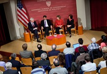 """Panel discussion titled: """"Digital Governance: From the State House to the White House"""""""