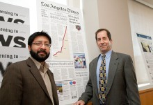 Ruben Vives and Jeff Gottlieb of The Los Angeles Times.