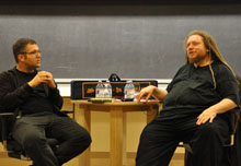 Nicco Mele and Jaron Lanier.