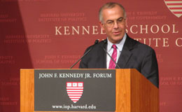 David Brooks delivers the T.H. White Lecture
