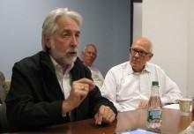 Richard Gingras and Alex S. Jones