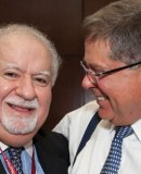 Vartan Gregorian, president of Carnegie Corporation, and Alberto Ibargüen, president and CEO of Knight Foundation