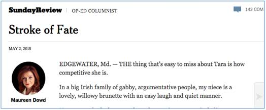 NYT page reader view