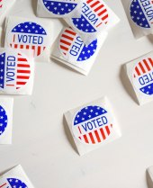 Photo of I Voted stickers by Element5 Digital on Unsplash