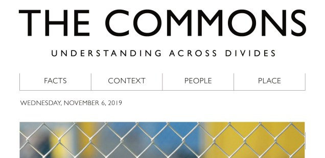 The Commons: Student Workshop Reimagines Political Media