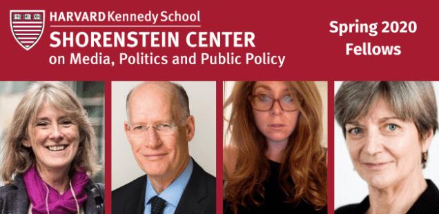 Spring 2020 Shorenstein Fellows