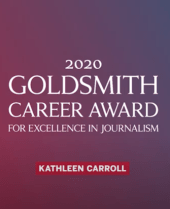 Kathleen Carroll: 2020 Goldsmith Career Award Winner