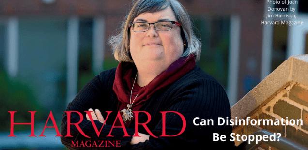 Portrait of Dr. Joan Donovan