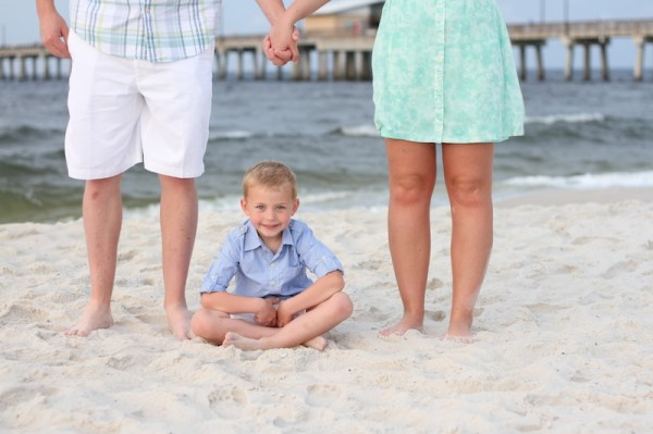 sunrise beach portraits family photography gulf shores