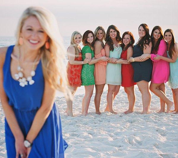 Bachelorette Party Beach Gulf Shores Photography