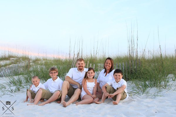 Sunrise Beach Portrait Gulf Shores Photographer Gulf State Park Photography Family pictures