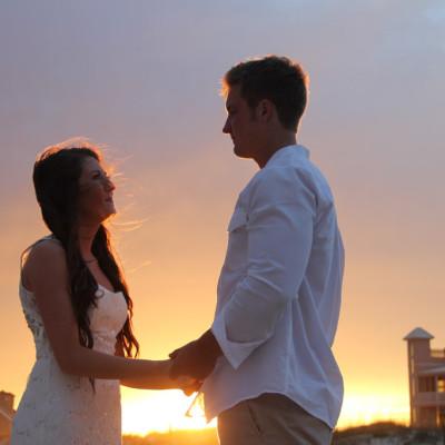 Sunset Wedding Photography Gulf Shores