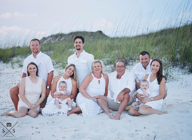 Family Reunion Beach Portrait Lifestyle Photography Gulf Shores Destin Panama City Beach