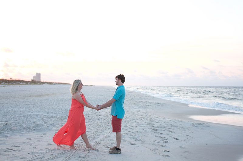 Orange Beach Engagement Photography Orange Beach Photographer Couple Beach Portraits Orange Beach Perdido Key Photographer