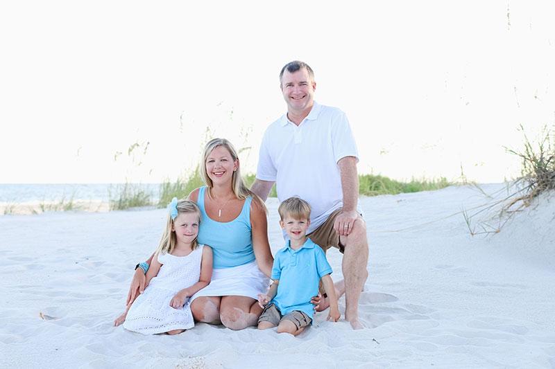 Fort Morgan Family Beach Portraits Gulf Shores Photographer Lifestyle photography Alabama Gulf Coast