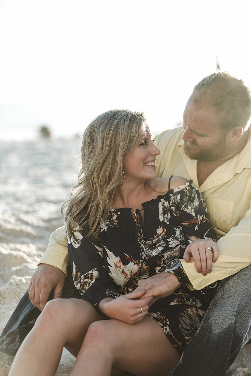 Surprise proposal Gulf Shores Photographers Orange Beach Photography