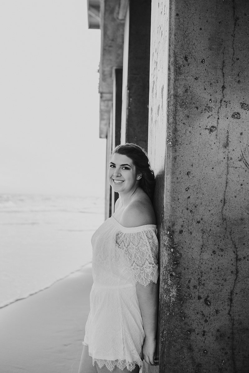 Gulf Shores Senior Portraits Gulf Shores Photographer Beach Portraits Gulf State Park Pier
