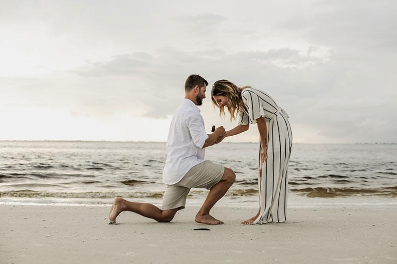 Surprise Proposal Fort Myers Beach Photography Sanibel Photographer Captiva Island Beach Photos Sanibel Island Pictures Fort Myers Photographers Florida