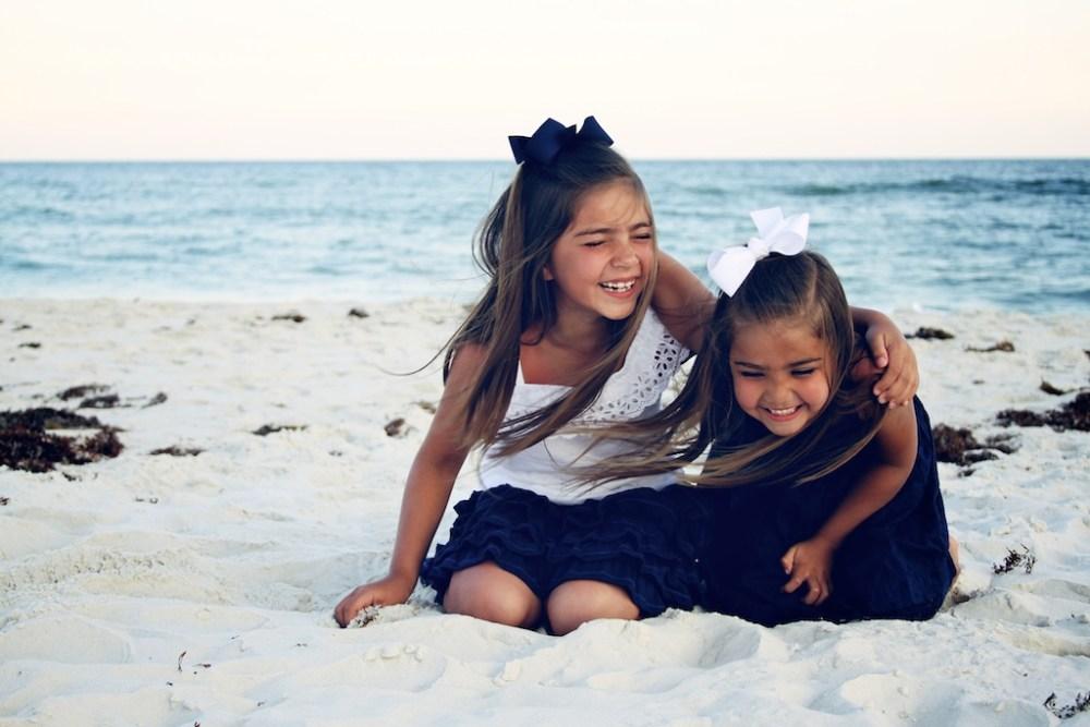 Sunrise Beach Portraits in Gulf Shores Photographers Orange Beach