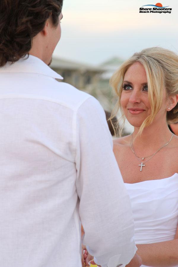 Fort Morgan Wedding Sunset Gulf Shores Photographers