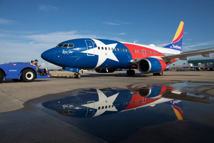 Southwest Airlines Lone Star One at Houston Hobby Airport