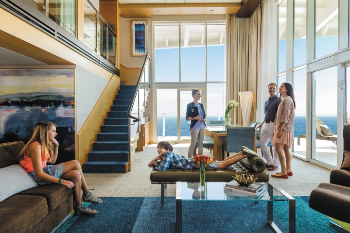 Royal Loft Suite on Oasis of the Seas.