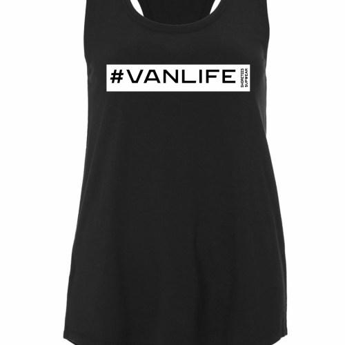 Ladies Black Vanlife Vest
