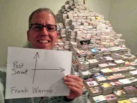 Image result for Frank Warren PostSecret.com
