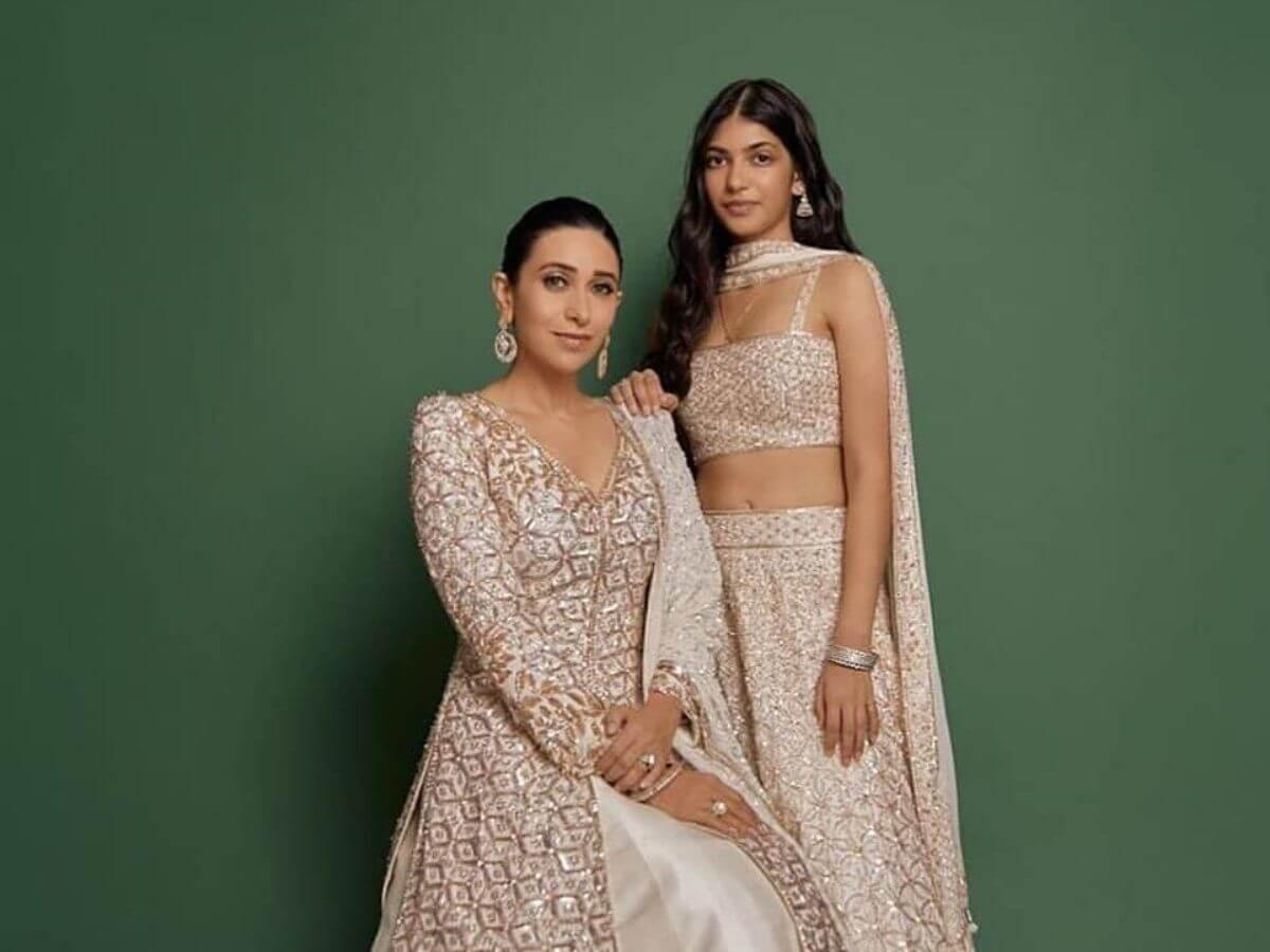 Karisma Kapoor & Samaira Kapoor